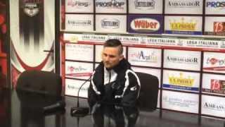 """Calcio, Agostinone: """"Meritavamo la vittoria"""""""