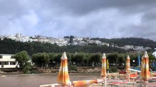 Peschici, alluvione sul Gargano