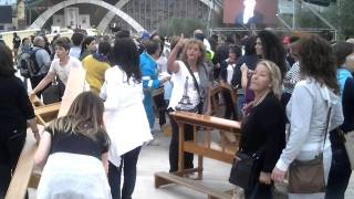 S. G. Rotondo – festa S.Pio – protesta pellegrini