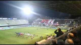 Foggia-Lecce 2-0, lo show delle curve