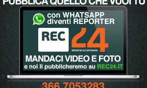 Su Rec24 pubblichi le tue notizie: video, foto, comunicati (scopri come)