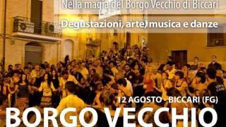 A Biccari stasera la magia del Borgo Vecchio