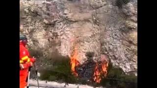 Brucia il Gargano