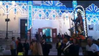 Candela, San Rocco in processione