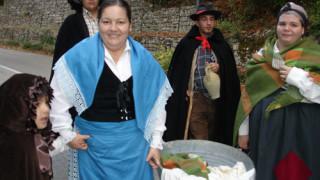 """Festa, sfilata e frutti d'autunno: ad Alberona """"Il Paese nella Tradizione"""""""