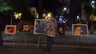 Foggia, 40 artisti in via Lanza