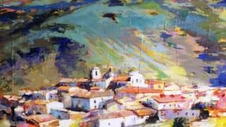 """Pittura, al """"Lupo"""" trionfano i colori di Faeto"""