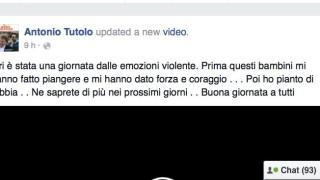 """Caso Bioecoagrimm, Tutolo su Facebook: """"Ho pianto di rabbia"""""""