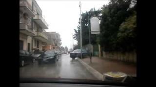 Cerignola ancora sotto la pioggia