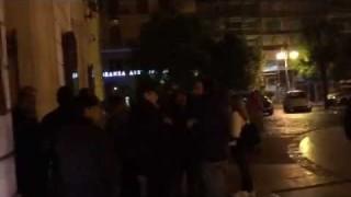 Giordano, fila di mezzanotte