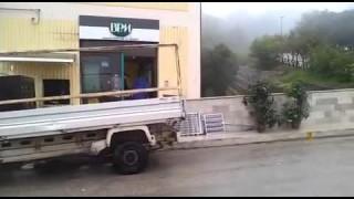 Orsara, bomba al bancomat
