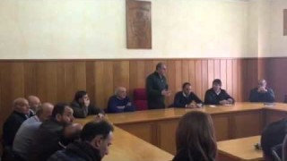 """(video) Piemontese a Carlantino: """"Chiesto lo Stato di Emergenza"""""""