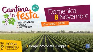Cantina in Festa: vino, musica e caldarroste a Borgo Incoronata