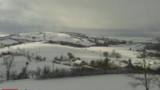 Panoramica in bianco di Monteleone
