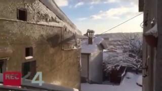 Faeto, mezzo metro di neve