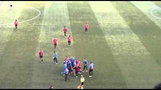 Foggia-Benevento, 13mila applausi al goal di Sarno