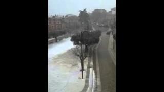 In tour (video) Neve anche a Motta Montecorvino