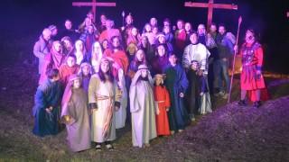 (foto) La Via Crucis di Castelnuovo della Daunia