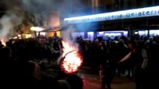 (VIDEO) San Marco in Lamis, il fuoco delle Fracchie