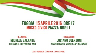 Congresso ANPI a Foggia, a Roma si celebra il foggiano Nicola Stame