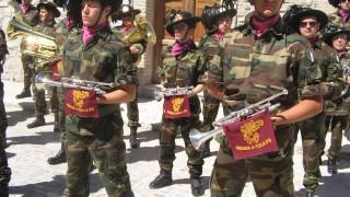 Bersaglieri, la Fanfara di Orsara al Raduno nazionale di Palermo