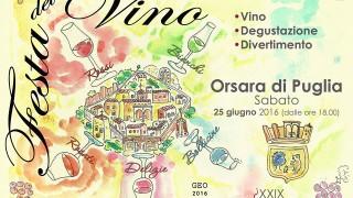 Festa del Vino, a Orsara la 29esima edizione
