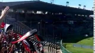 (video) Pisa-Foggia, l'ingresso dei rossoneri e il tifo dei foggiani