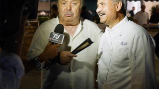 """Peppe Zullo e la festa di Banfi: """"Un grande onore"""""""