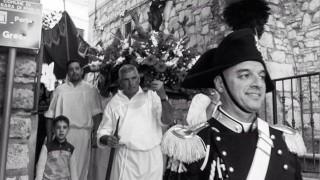 """""""Ciao Michele"""", l'omaggio degli orsaresi al loro comandante. Oggi sarà lutto cittadino"""