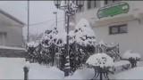 Sui Monti Dauni la neve non scherza