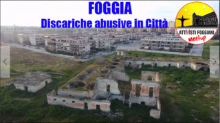 Foggia, discariche in città: la denuncia dei 5 Stelle
