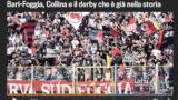 """Bari-Foggia nella home della Gazzetta: """"Derby già nella storia"""""""