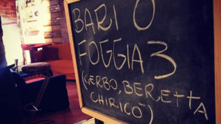 Bari-Foggia in ogni casa, locale e piazza della città: tu dove la vedrai?