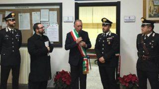 Ecco il Presidio dei Carabinieri ad Alberona