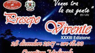 A Castelnuovo i sapori e la magia del Presepe Vivente