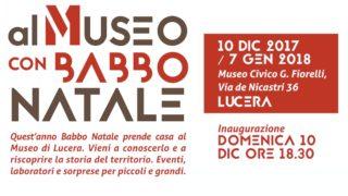 """Lucera va """"Al museo con Babbo Natale"""""""