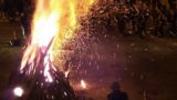 La bella Alberona illuminata dai fuochi (le immagini)