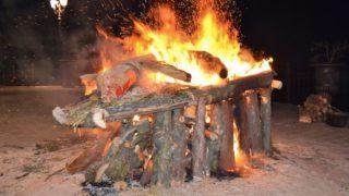 L'arte, le fiamme e la fede: ecco i falò di Alberona