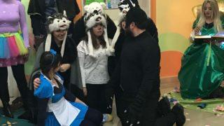 Ospedale di Foggia, il sorriso dei bambini la favola più bella