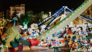 Manfredonia, gran parata in notturna