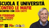 Don Ciotti a Foggia contro tutte le mafie
