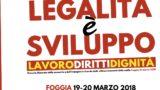 Legalità e sviluppo: Maurizio Landini a Foggia