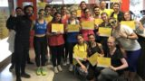 Foggia, il popolo di Let's Move: 600 in movimento