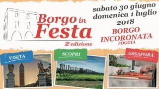 """""""Borgo in Festa"""": Borgo Incoronata si veste di colori, musica e sapori"""