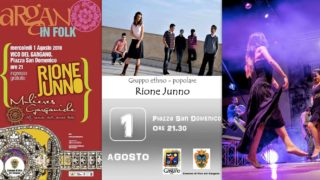 A Vico stasera con Rione Junno e venerdì Masini in concerto