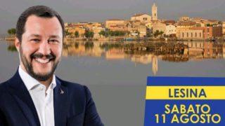 Salvini a Lesina