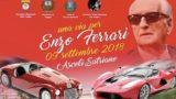 Ascoli Satriano, i bolidi rossi sfilano sulla via dedicata a Enzo Ferrari