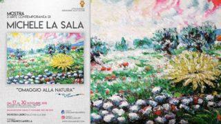 L'omaggio alla natura (e alla Daunia) di Michele La Sala