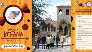 Casa della Befana a Orsara: tre giorni spettacolari, e la vecchina tesse la Sciarpa Umanitaria