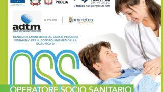 Foggia, corso gratuito per Operatore Socio Sanitario: il bando